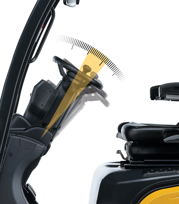TCM FD+FGE Memory tilt steering column