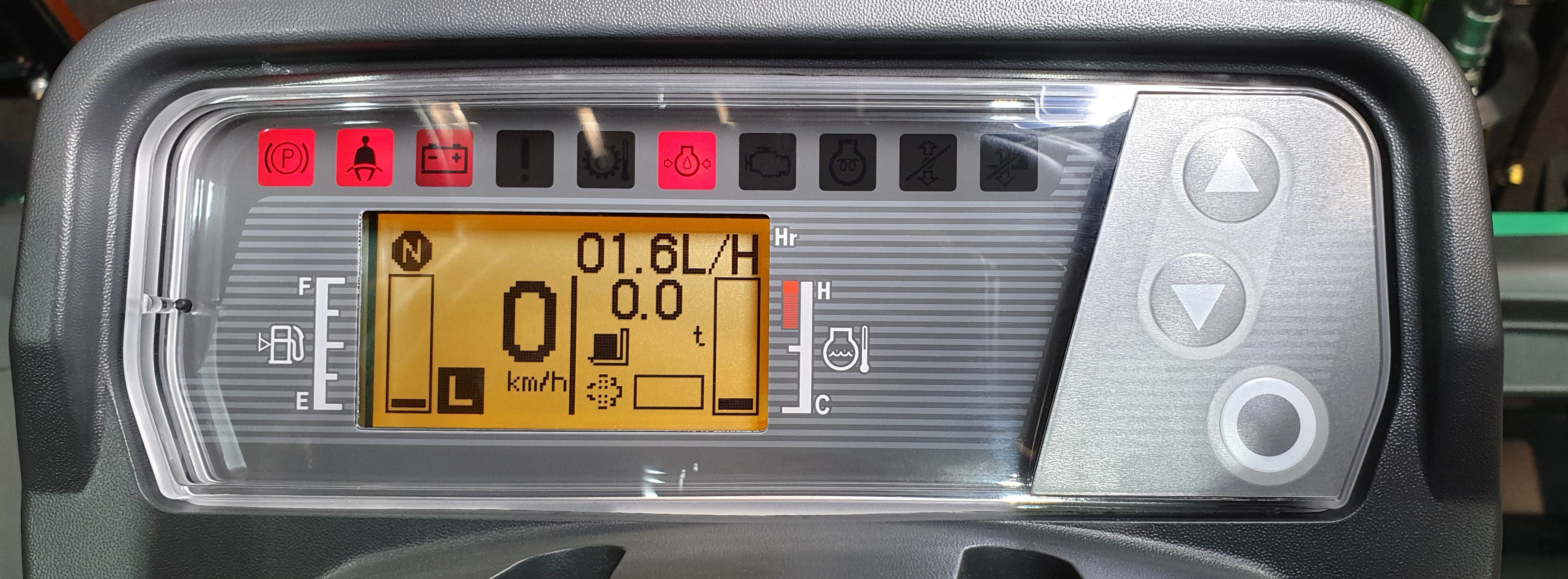 TCM FD20-E2 Dash display