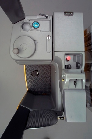 ERGO DRIVER COMPARTMENT FOR HIGHER PRODUCTIVITY