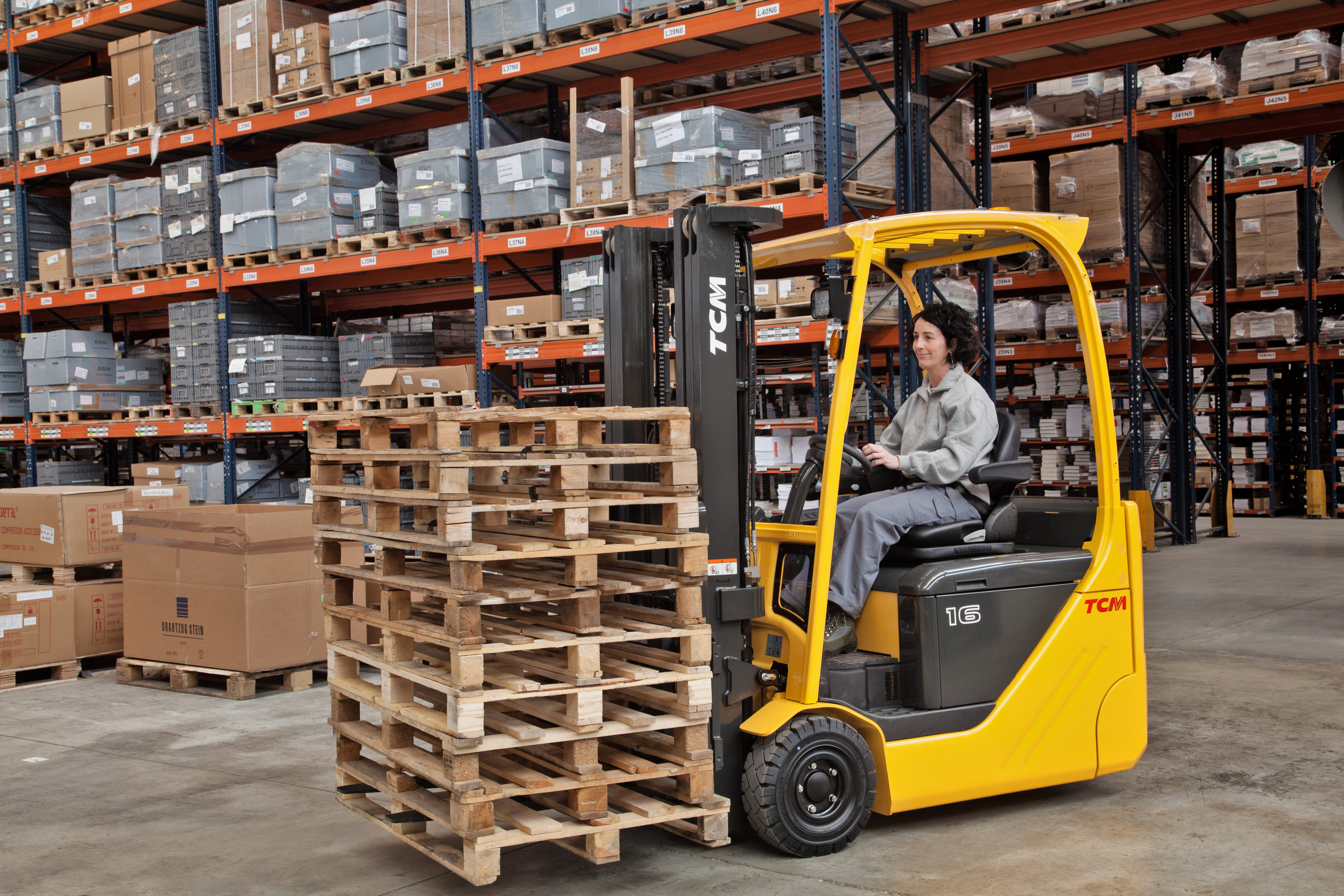 How TCM Electric Counterbalance Trucks Are Transforming Warehouse Operations