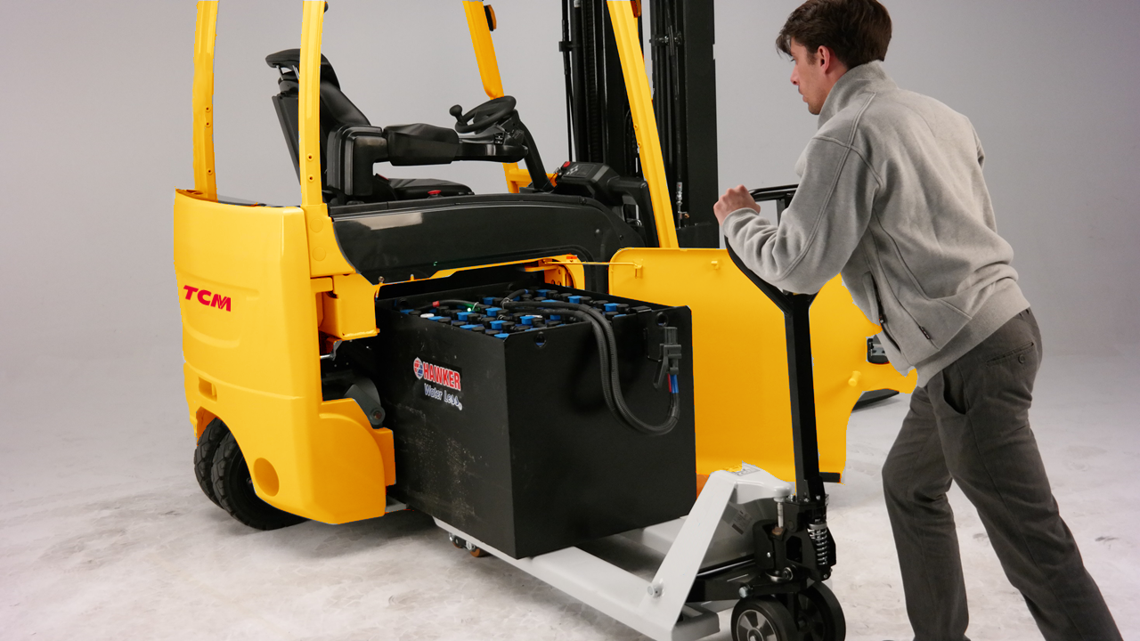 New Product Feature: Efficiency Is Integral To Our 3/4 Wheel Electric Counterbalance