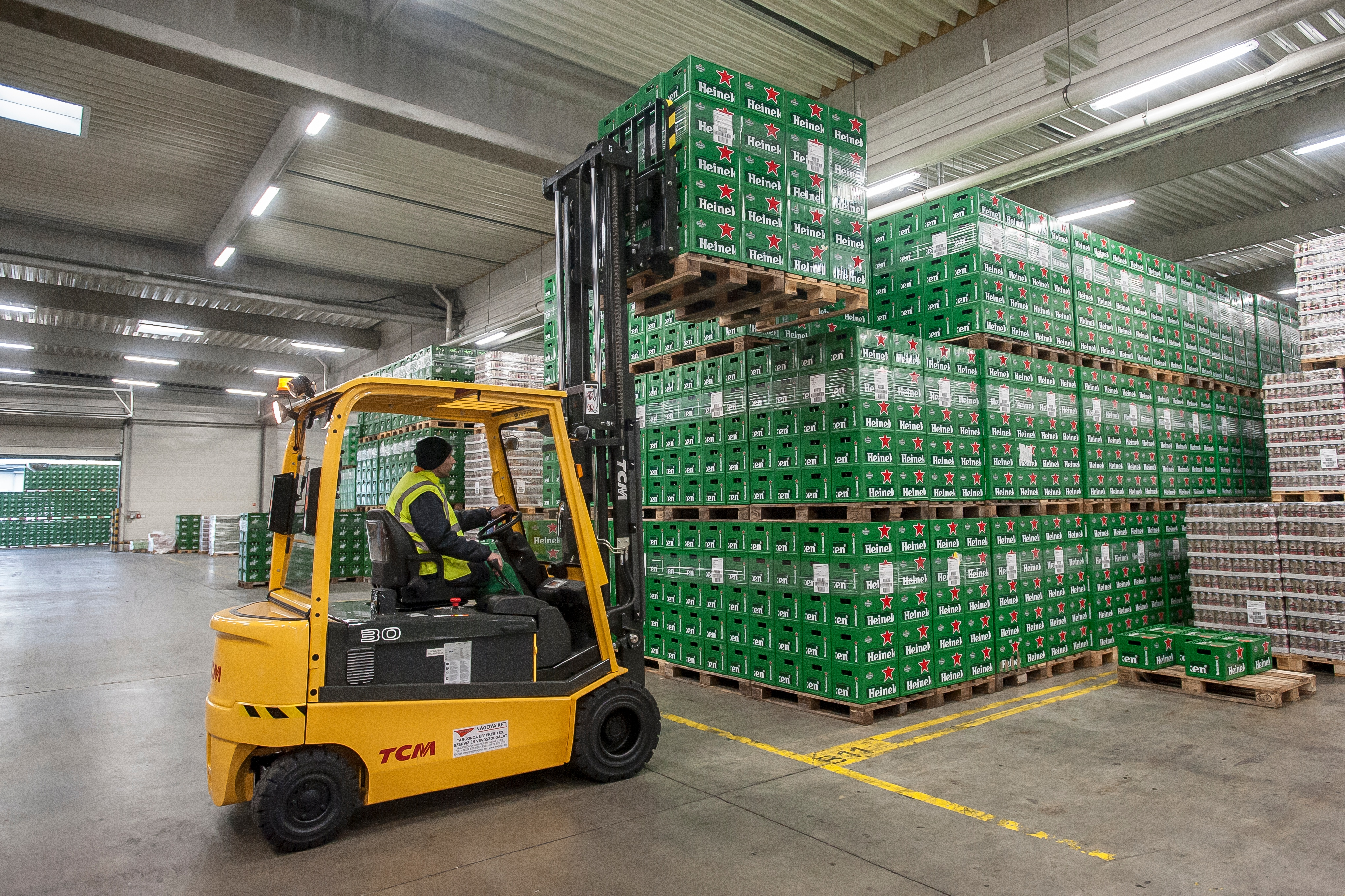How TCM Forklifts Helped to Transform Heineken's Operation