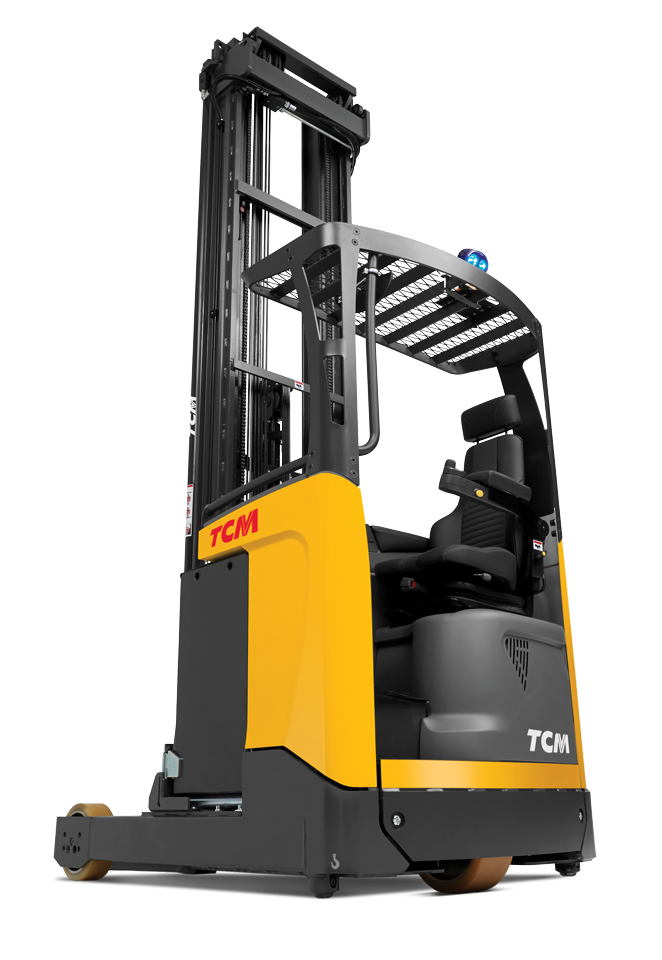 How TCM Reach Truck Forklifts Enhance Operator Comfort and Safety