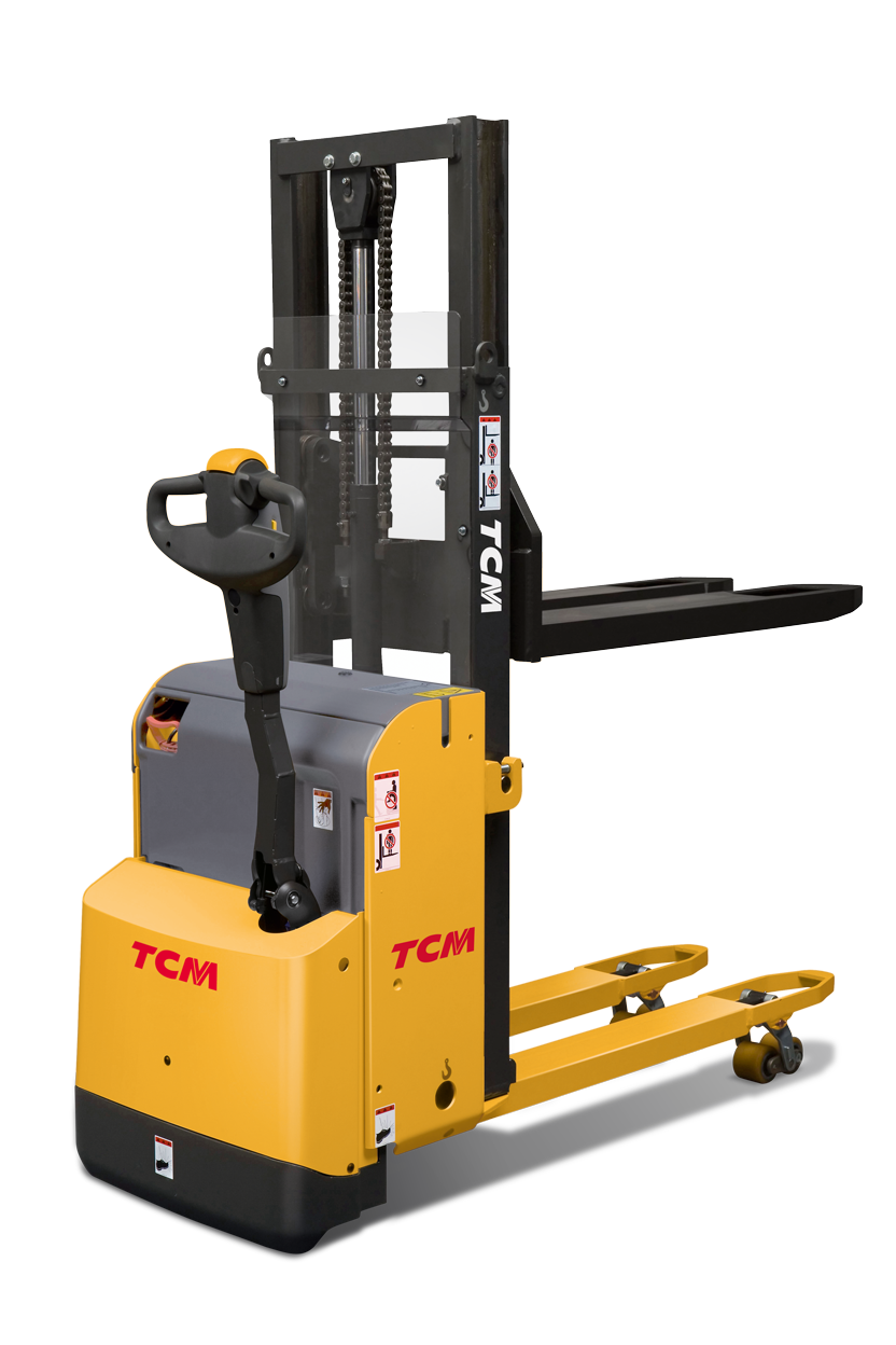 Improve Your Operators' Efficiency with TCM's Pallet Stacker Trucks