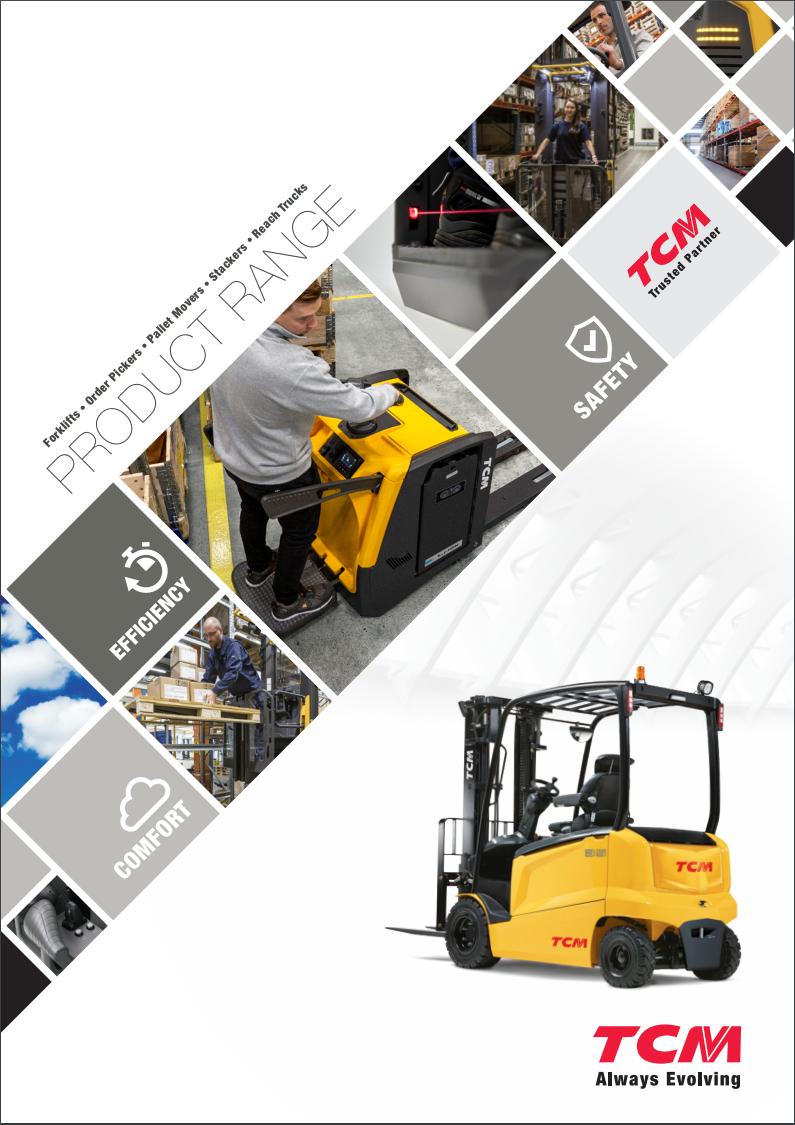 TCM - Pallet Truck Brochure Front Cover 2020