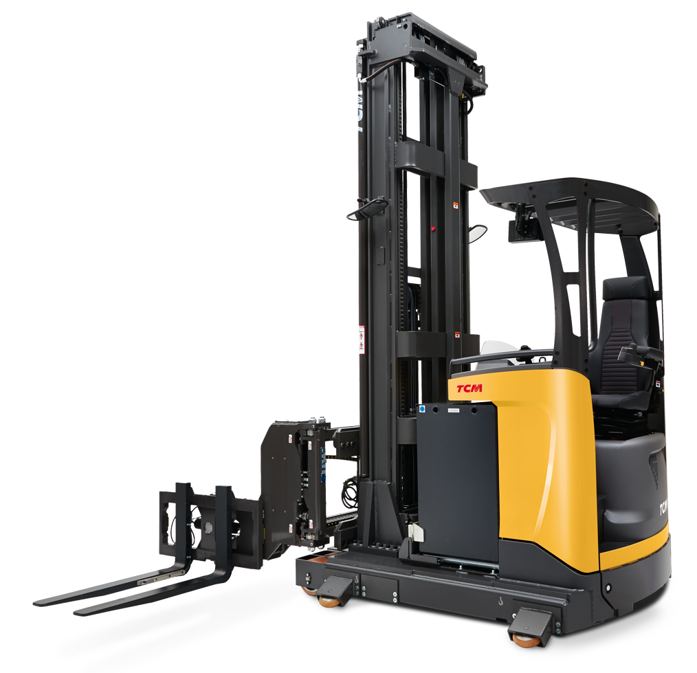 RTS Swivel Narrow Aisle Reach Truck | TCM Forklifts